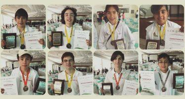Jóvenes estudiantes de la CDMX, primer lugar en medallero de Olimpiada de Matemáticas