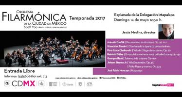 La orquesta filarmónica de la ciudad de México llega a Iztapalapa este fin de semana