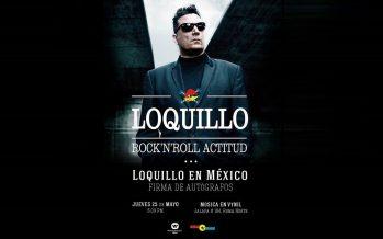 Loquillo anuncia una breve visita a México