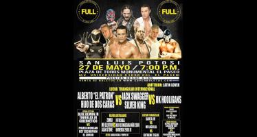 Este sábado Alberto el Patrón y Jack Swagger se verán las caras en San Luis Potosí