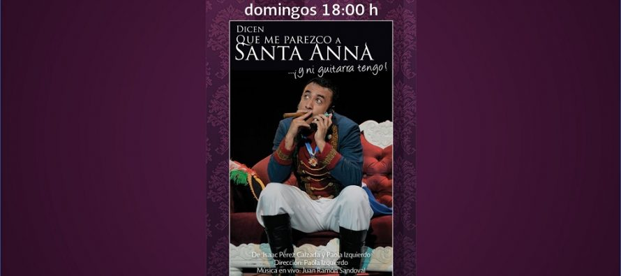 Dicen que me parezco a Santa Anna… ¡Y ni guitarra tengo!