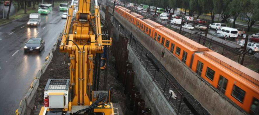Retoman obra para evitar inundaciones en la Línea A del Metro
