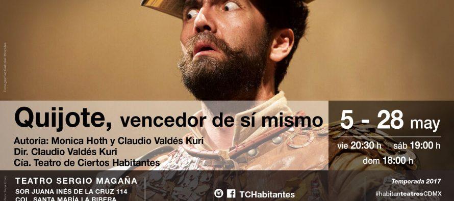 Quijote, vencedor de sí mismo, reflexión audaz y conmovedora sobre las propias derrotas y anhelos olvidados