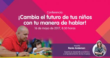 Rania Anderson, experta internacional en economía y empoderamiento de las mujeres ofrecerá conferencia en PAPALOTE MUSEO DEL NIÑO