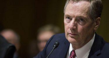 Senado de EU aprueba a Robert Lighthizer como jefe de Comercio Exterior