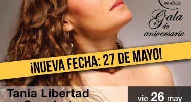 Nueva fecha de Tania Libertad en concierto </span></p> 100 Violetas para la Esperanza