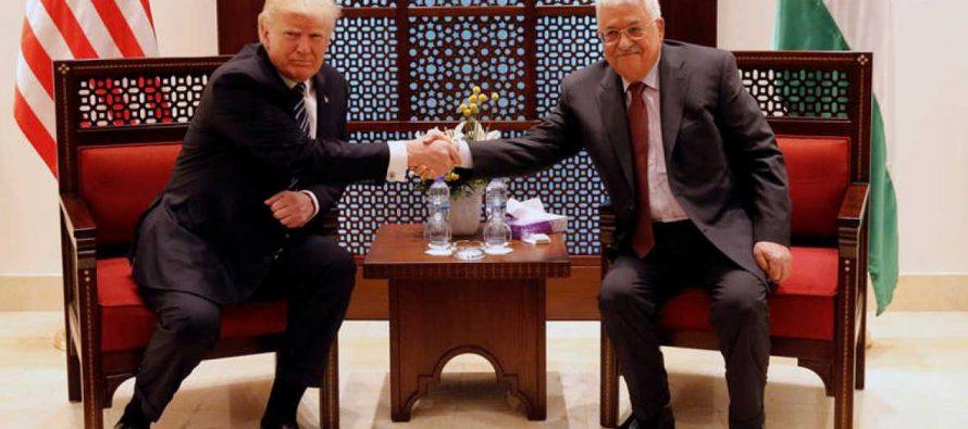 """Trump: Presidente palestino se compromete a """"tomar medidas firmes"""" contra el terrorismo"""