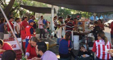 Dan tacos y tortas gratis por el triunfo de las Chivas