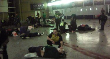 Detienen a hombre por explosión junto al estadio Manchester que ha causado 22 muertos