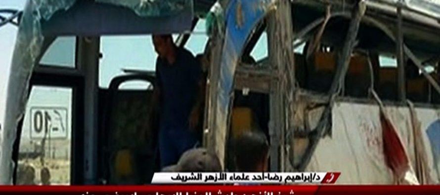 Llegan a 28 los muertos por ataque a autobús de cristianos en El Cairo