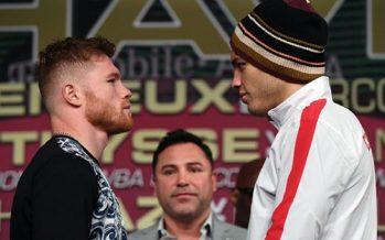 Todo listo para la pelea entre Saúl 'Canelo' Álvarez y Julio César Chávez Jr.