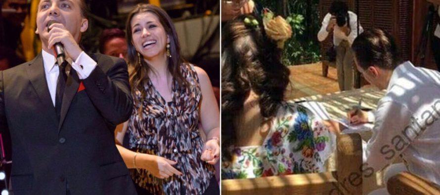 Cristian Castro se casa por tercera vez; ahora con una violinista