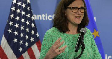Actualización del acuerdo comercial México-UE se podrá cerrar a fin de año: Malmström