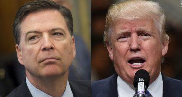 La Casa Blanca guarda silencio por posibles grabaciones de pláticas entre Trump y Comey