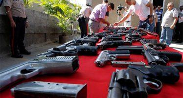 Desarme voluntario se contemplará en ley que trabaja la ALDF
