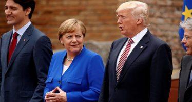 Trump tuitea su disgusto por déficit comercial de EU con Alemania