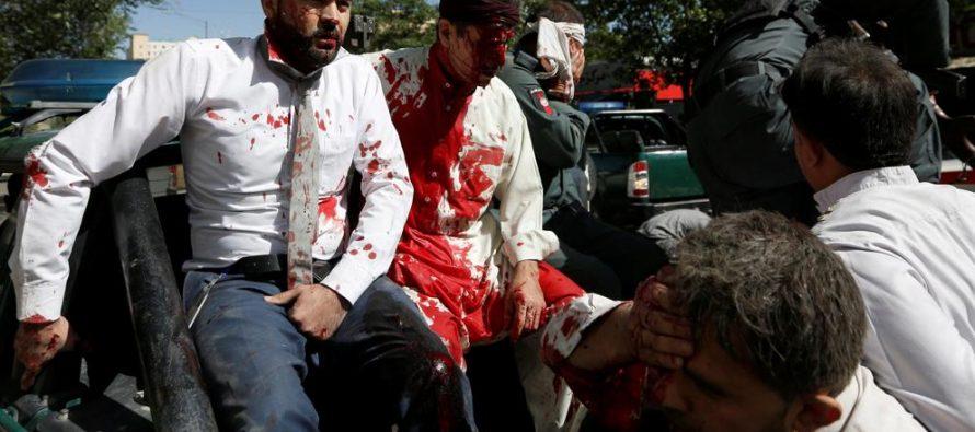 Explosión suicida en Kabul causa al menos 90 muertos y 380 heridos
