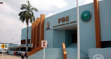Atacan Fiscalía General de Tabasco causando dos heridos; hay un detenido