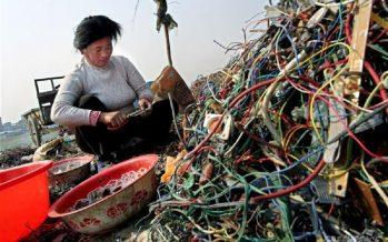 Aquí llega mucha basura tecnológica del mundo