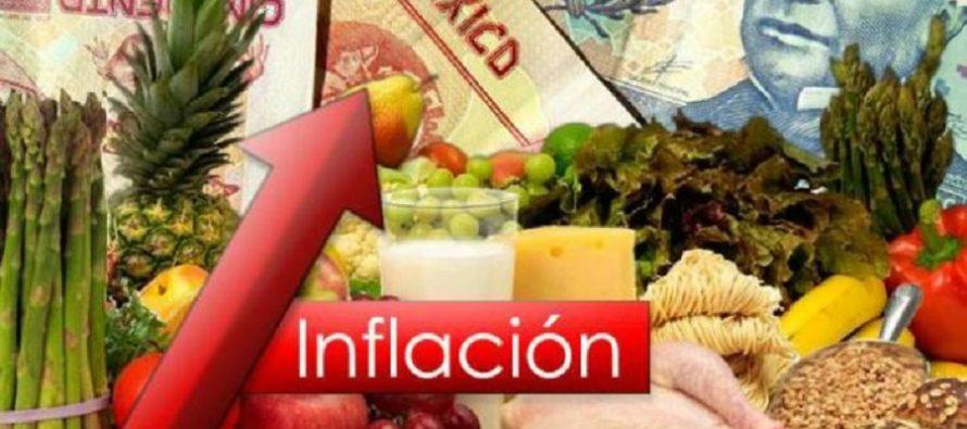 Se acelera la inflación interanual a 6.17 %