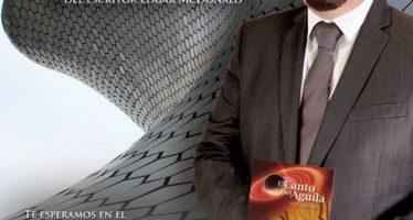 """Edgar Mcdonald presentará su libro  """"El Canto del  Águila"""""""