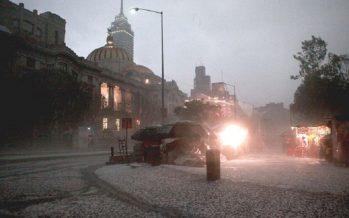 Pronostican lluvias fuertes y posible granizo en la CDMX y Estado de México