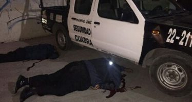 Asesinan en Ecatepec a cinco policías; desconocen las causas