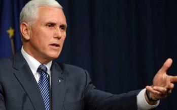 """Despido del director del FBI fue una """"decisión adecuada"""", señala Mike Pence"""
