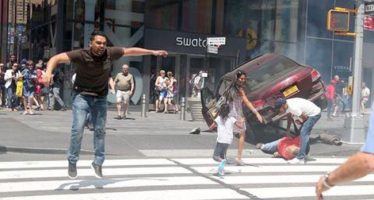 """¡Los quise matar!"", dice conductor de auto que atropelló a peatones en Times Square"