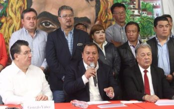 Óscar González, candidato del PT, declina a favor de Delfina Gómez hacia el Edomex