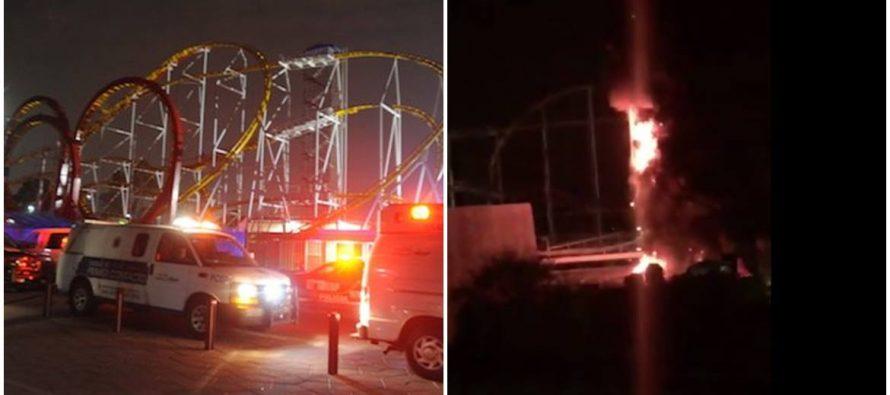 Se reporta incendio en el interior de La Feria de Chapultepec; no hay lesionados