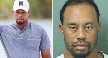 Detienen a Tiger Woods por conducir bajo el influjo del alcohol