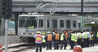 Tren Ligero recuperó normalidad en su servicio tras torrencial aguacero