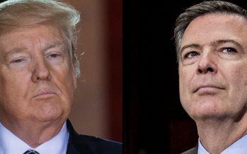 Trump advierte a Comey que no filtre sus conversaciones cuando dirigía el FBI