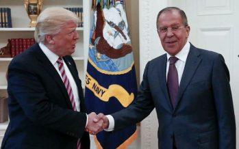 Trump dice a Lavrov que Rusia y EU deben terminar el conflicto sirio y frenar a Bachar Al Asad
