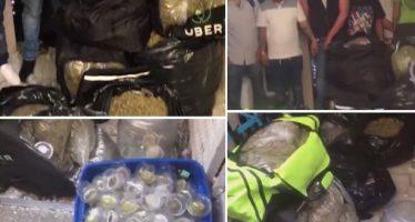 Seguridad Pública realiza operativo en Tepito y decomisa marihuana en mochilas