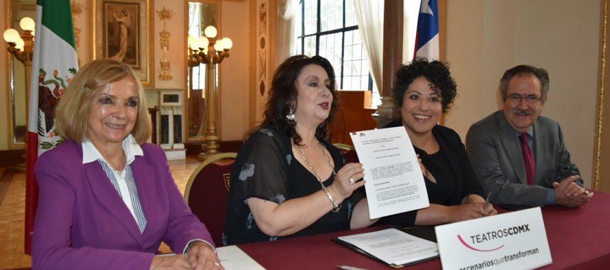 Las fundaciones Verónica Villarroel y María Katzarava firman convenio de colaboración en beneficio de la educación artística de niños y jóvenes en situación de violencia en América Latina