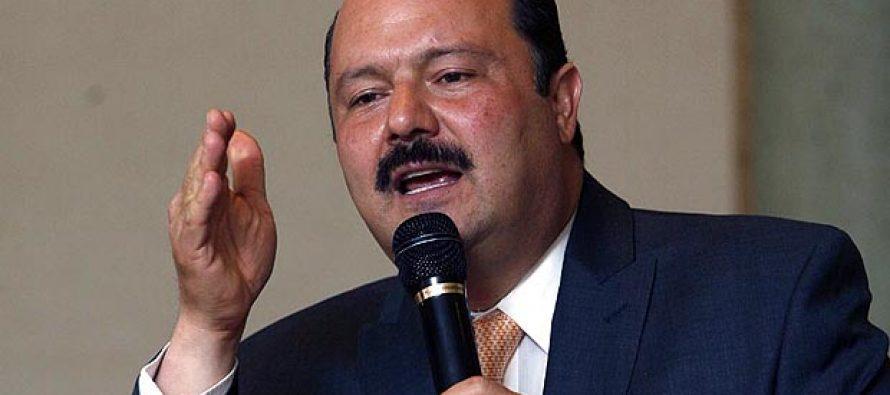 Ex gobernador César Duarte no se presenta ante un juez federal
