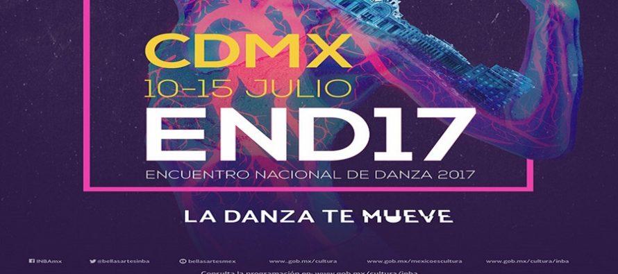 El Encuentro Nacional de Danza 2017 moverá a la Ciudad de México