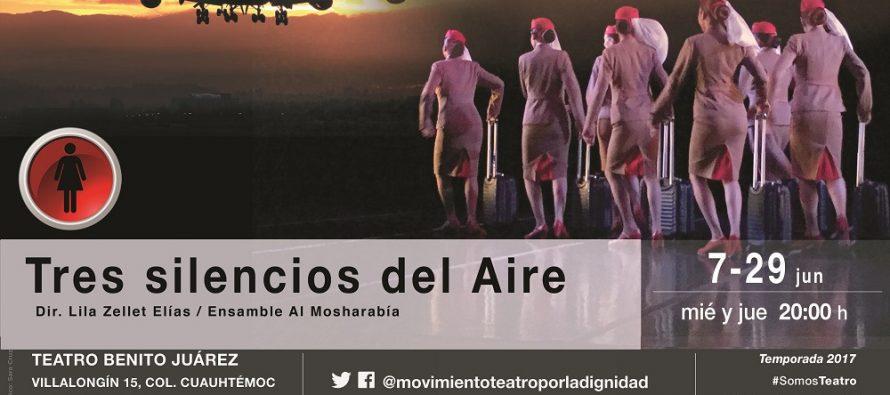 Tres silencios del Aire, montaje coreográfico sobre la condición femenina a través de un oficio en las alturas