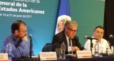 Sin condenar a Venezuela, termina Asamblea General de la OEA