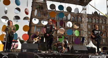 """Jose Riaza estrena en México """"Despertares"""" en el Zócalo de la Ciudad de México durante la Feria Internacional de las Culturas Amigas"""