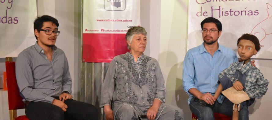 Conferencia de Prensa en el Teatro Sergio Magaña de Vine a Rusia porque me dijeron que acá vivía un tal Antón Chéjov, Balsa sin remos y Disecciones
