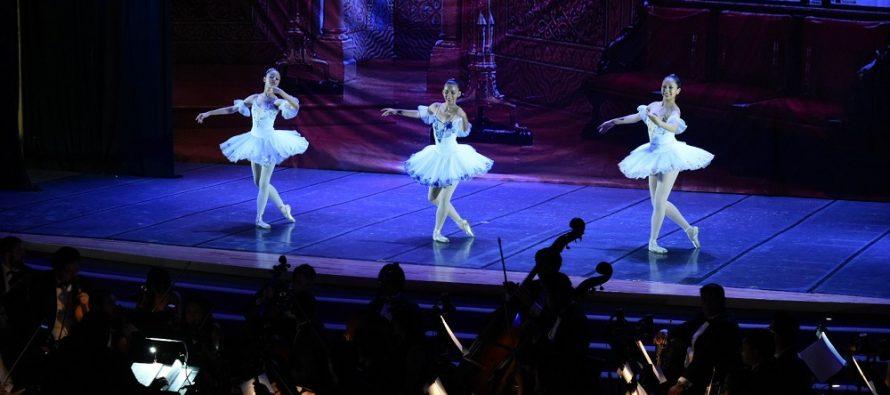 """La Filarmónica de las Artes presentó con gran éxito """"La Bella Durmiente"""" y """"La Bayadera"""" junto con la Academia de la Danza Mexicana"""