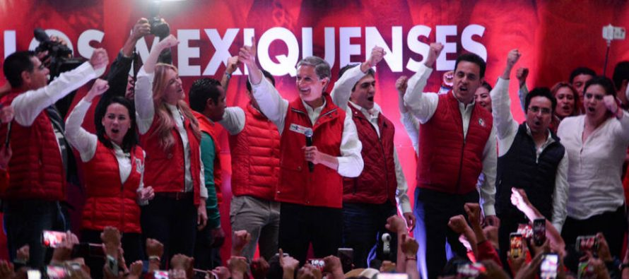 PRI gana el Edomex, pero con dificultad; alianzas lo salvan