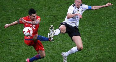 Copa Confederaciones: Chile y Alemania empatan 1-1