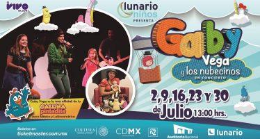 Gaby Vega y Los Nubecinos regresan con un gran concierto en el Lunario del Auditorio Nacional