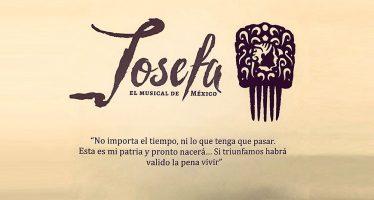 Josefa el Musical de México se estrena el próximo 23 de junio de 2017 en el Teatro Hidalgo