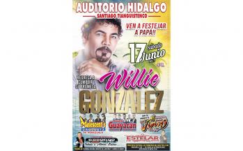 Willie González presenta en México su nueva producción Homónima