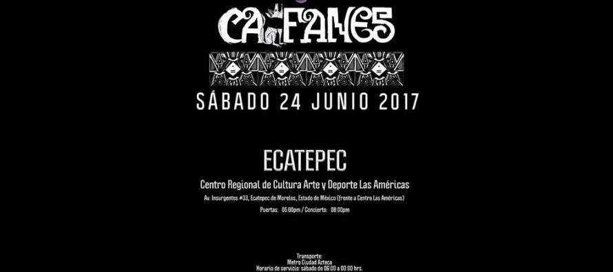 Caifanes se presentará en el Centro Cultural Las Americas